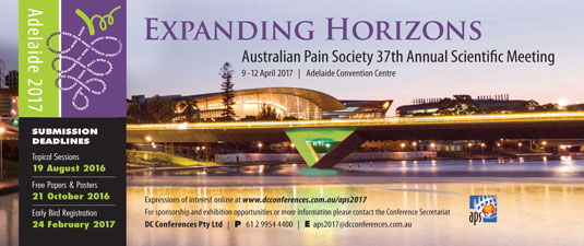 2017 APS Conference Adelaide ... more